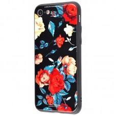 Чехол для iPhone 6 Plus White Knight Pictures Glass розы