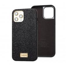 Чехол для iPhone 12 / 12 Pro Gif Gradient черный