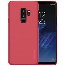 Чехол для Samsung Galaxy S9+ Nillkin с защитной пленкой красный
