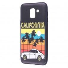 """Чехол для Samsung Galaxy J6 2018 (J600) Pic """"Калифорния"""""""