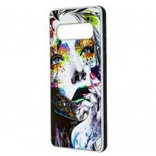 Чехол для Samsung Galaxy S10 (G973) Fashion mix девочка