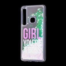 """Чехол для Samsung Galaxy A9 2018 (A920) вода светло-розовый """"босс"""""""