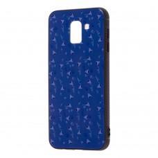 Чехол для Samsung Galaxy J6 2018 (J600) Picture синий