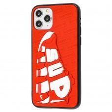 Чехол для iPhone 11 Pro Sneakers Brand sup красный / белый