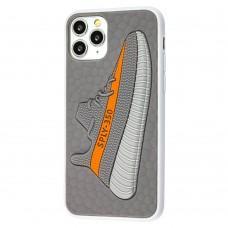 Чехол для iPhone 11 Pro Sneakers Brand yeezy 350 серый