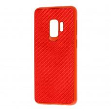 Чехол для Samsung Galaxy S9 (G960) Carbon New красный