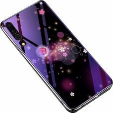Чехол для Huawei P30 Fantasy пузырьки и цветы
