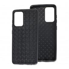Чехол для Samsung Galaxy A52 Weaving черный