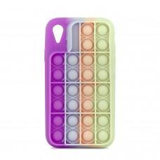 Чехол для iPhone Xr Pop it colors антистресс дизайн 1