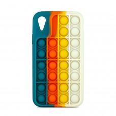 Чехол для iPhone Xr Pop it colors антистресс дизайн 3