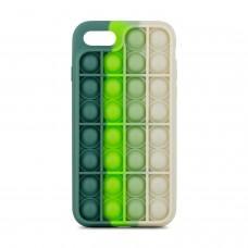 Чехол для iPhone 7 / 8 / SE 2020 Pop it colors антистресс дизайн 3