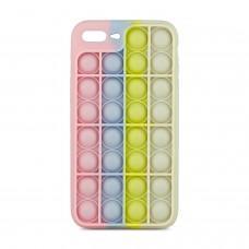 Чехол для iPhone 7 Plus / 8 Plus Pop it colors антистресс дизайн 1