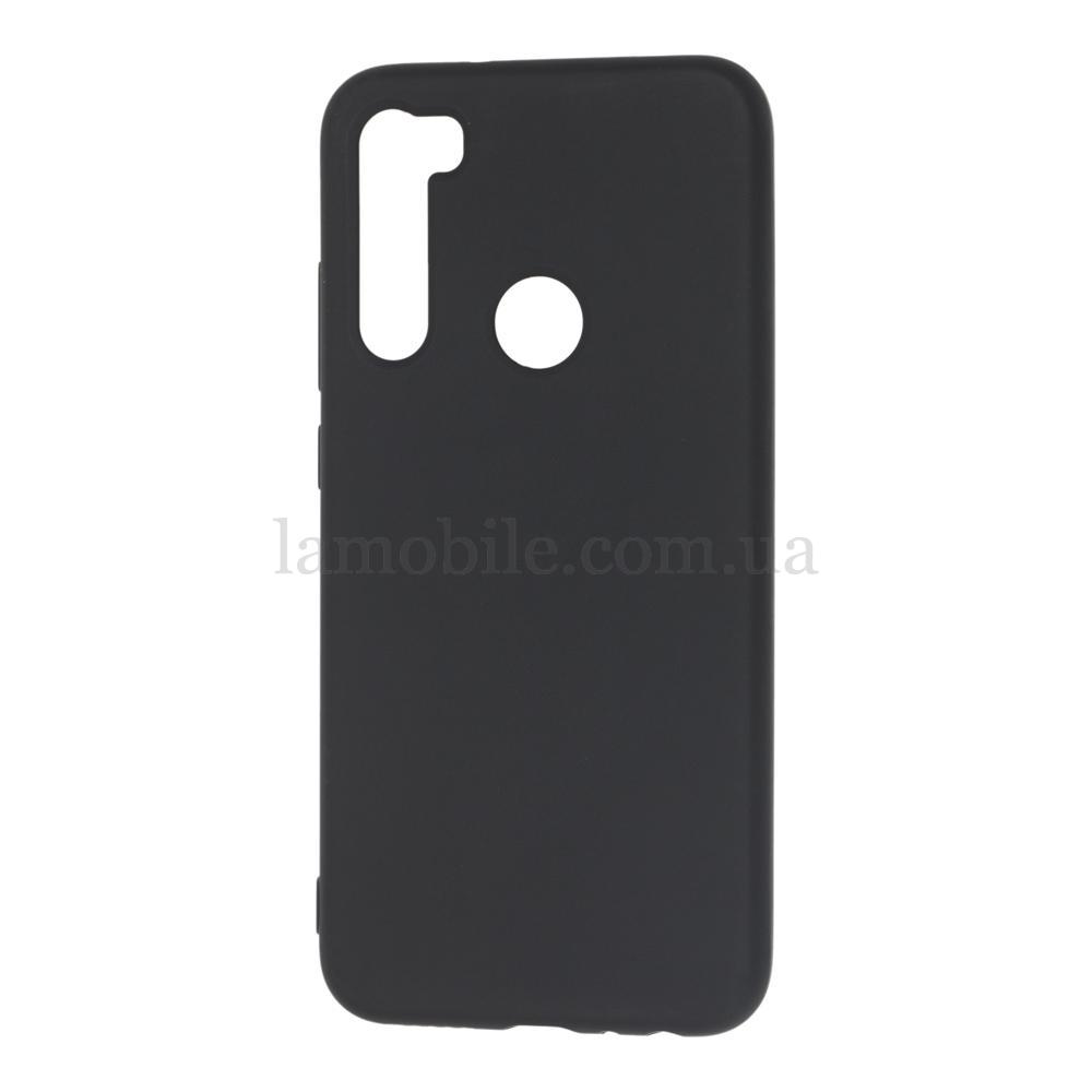 Чехол для Xiaomi Redmi Note 8 Epic матовый черный