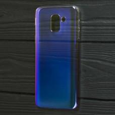 Чехол для Samsung Gakaxy J6 2018 (J600) Colorful Fashion фиолетовый