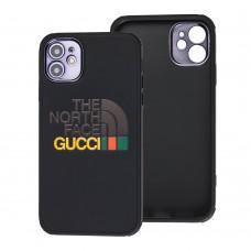Чехол для iPhone 12 Pro Brand Design дизайн 1 черный