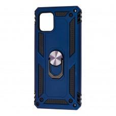 Чехол для Samsung Galaxy Note 10 Lite (N770) Serge Ring ударопрочный синий