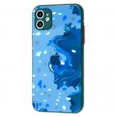 Чехол для iPhone 11 Watercolor glass дизайн 4