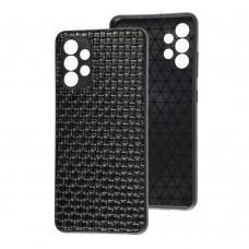 Чехол для Samsung Galaxy A32 (A325) Leather case плетенка