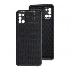Чехол для Samsung Galaxy A31 (A315) Leather case кроко