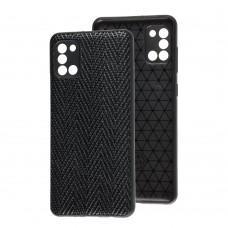 Чехол для Samsung Galaxy A31 (A315) Leather case волна