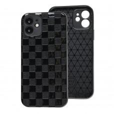 Чехол для iPhone 11 Leather case куб