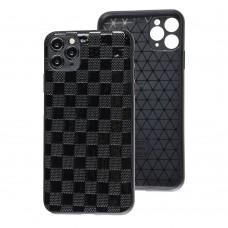 Чехол для iPhone 11 Pro Leather case куб