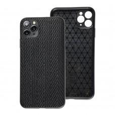 Чехол для iPhone 11 Pro Leather case волна
