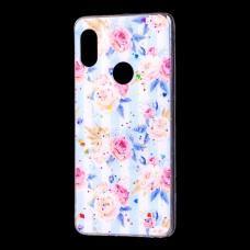 "Чехол для Xiaomi Redmi Note 5 Pro Flowers Confetti ""роз розы"""