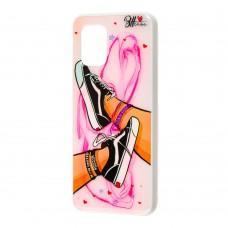 Чехол для Xiaomi Mi 10 Lite Girls UV shoes