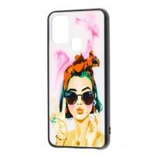 Чехол для Samsung Galaxy M31 (M315) Girls UV peace