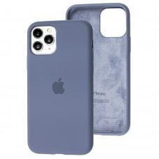 Чехол для iPhone 11 Pro Silicone Full серый / lavender gray