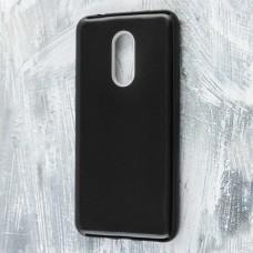 Чехол для Xiaomi Redmi 5 Plus Shining Glitter с блестками черный