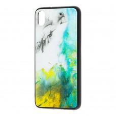 "Чехол для Xiaomi Redmi 7A мрамор ""голубь"""
