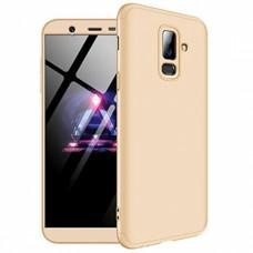 Чехол GKK LikGus для Samsung Galaxy J8 (J810) 360 золотистый