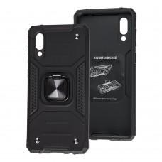 Чехол для Samsung Galaxy A02 (A022) Hard Defence черный