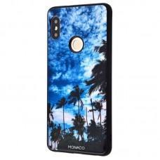 "Чехол для Xiaomi Redmi 6 Pro / Mi A2 Lite Monaco ""пальмы"""