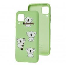 Чехол для Huawei P40 Lite Wave Fancy koala / mint gum