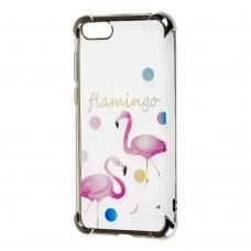 Чехол для Huawei Y5 2018 Kingxbar фламинго