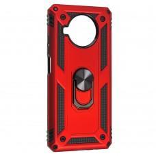 Чехол для Xiaomi Mi 10T Lite Serge Ring ударопрочный красный