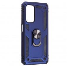 Чехол для Xiaomi Mi 10T / Mi 10T Pro Serge Ring ударопрочный синий