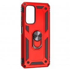 Чехол для Xiaomi Mi 10T / Mi 10T Pro Serge Ring ударопрочный красный