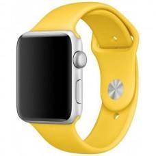 Ремешок Sport Band для Apple Watch 38mm / 40mm желтый
