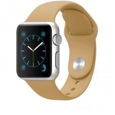 Ремешок Sport Band для Apple Watch 38mm светло-коричневый