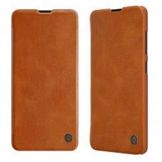 Чехол Nillkin Qin для Samsung Galaxy S20+ (G985) коричневый