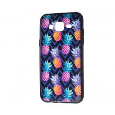 """Чехол для Samsung Galaxy J5 (J500) Pic """"ананас"""""""