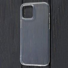 Чехол для iPhone 12 Pro Max Virgin silicone прозрачный