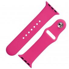 Ремешок Sport Band для Apple Watch 38mm / 40mm ярко-розовый
