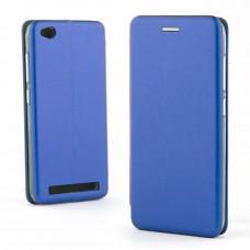Чехол книжка Premium для Xiaomi Redmi 5A синий
