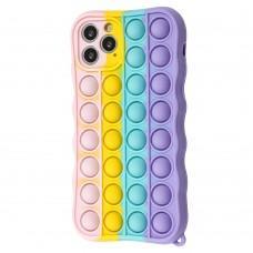 Чехол для iPhone 11 Pro Pop it colors антистресс дизайн 2