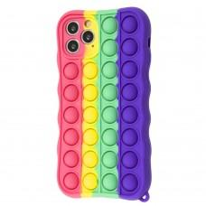 Чехол для iPhone 11 Pro Pop it colors антистресс дизайн 4
